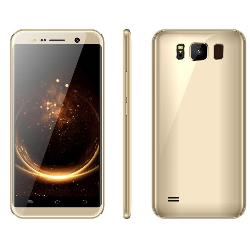Brandnew V3 Smartphone 5.5 Inch MTK6580 Quad core Mobliephone 1GB RAM 4GB ROM Dual Camera 5.0MP Back Camera Beauty Camera Android Smartphone