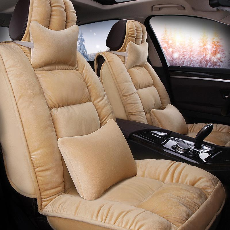 Winter Plush Car Seat Covers Warm Cover Cushion Exported To Europe And America Quanlity Seats For Infants