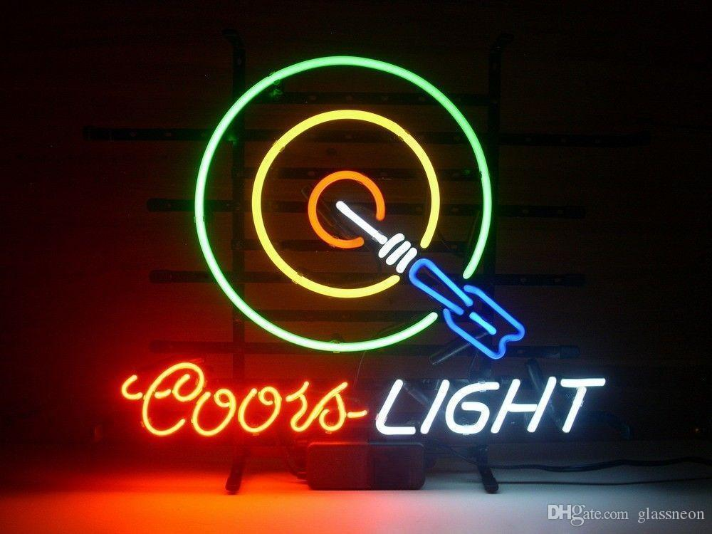 2018 new coors light dart game room glass neon sign light beer bar 2018 new coors light dart game room glass neon sign light beer bar pub arts crafts gifts lighting size 22 from glassneon 7689 dhgate mozeypictures Gallery