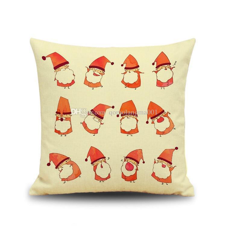 Fronha de natal floco de neve cervos impressão literatura e arte fronha capa de almofada do sofá do escritório almofada travesseiro de uso doméstico