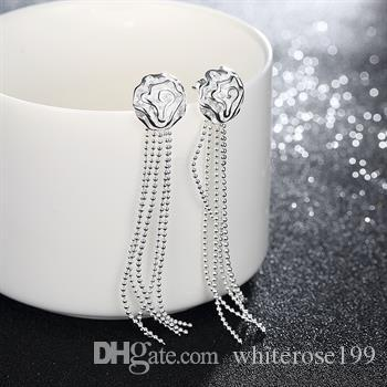 Wholesale  - 最低価格クリスマスギフト925スターリングシルバーファッションイヤリングE94