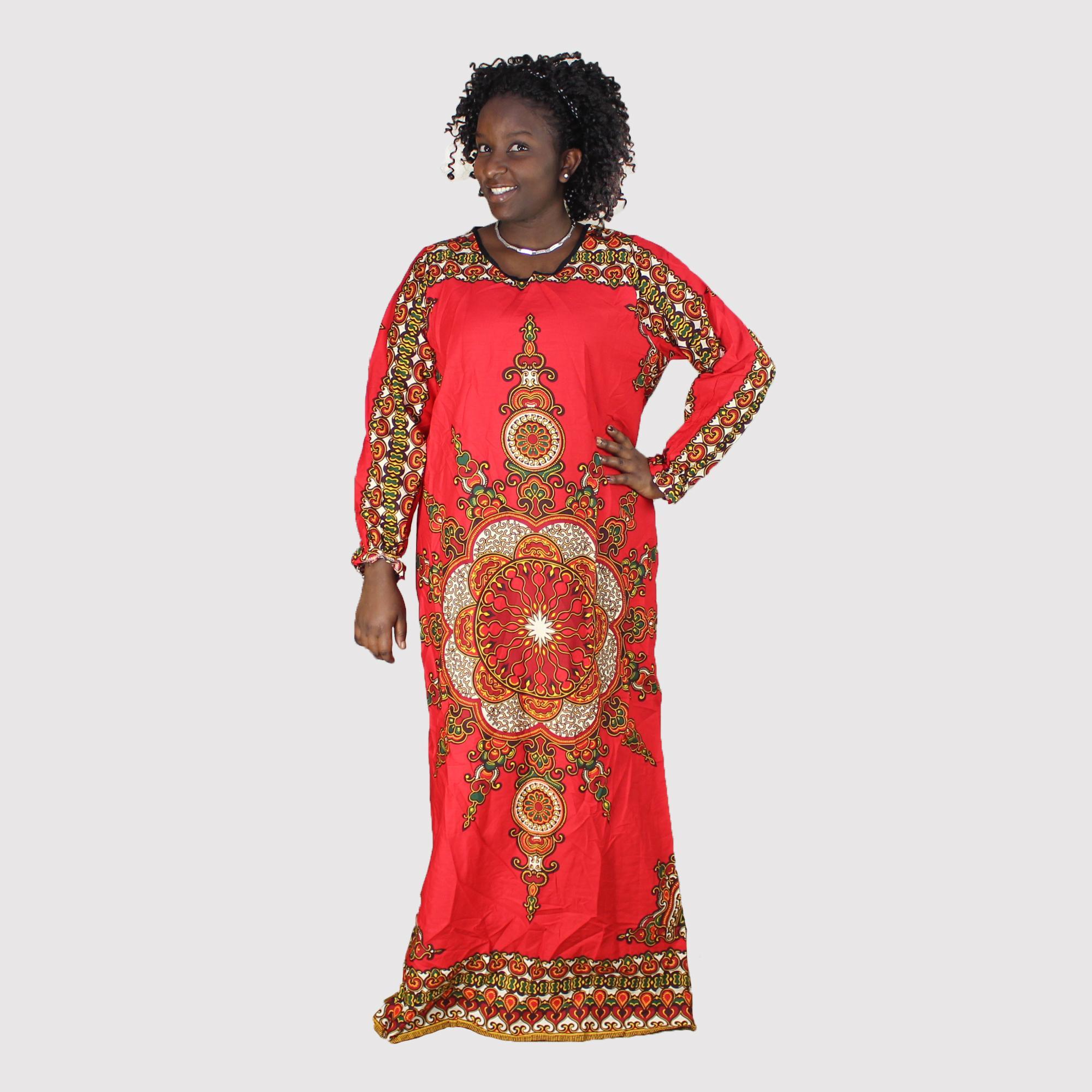 Dashiki Dress 2018 Summer Sexy African Print Shirt Dresses Femme ...