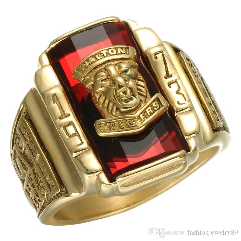 s men bronze tiger big biker r bengal joe rings ring