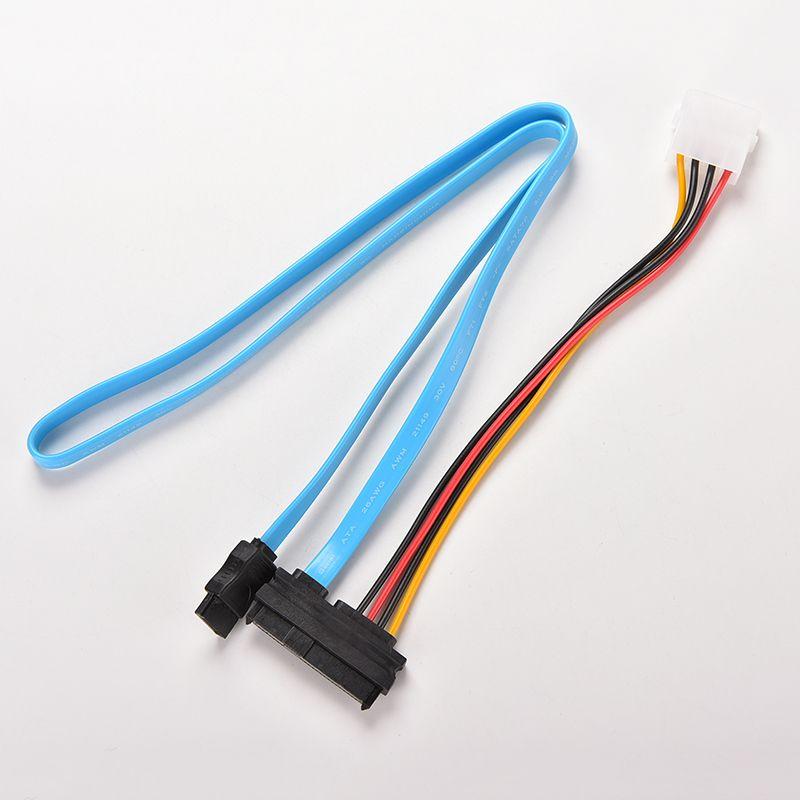Wholesale 7 Pin Sata Serial Female Ata To Sas 29 Pin Connector Cable ...