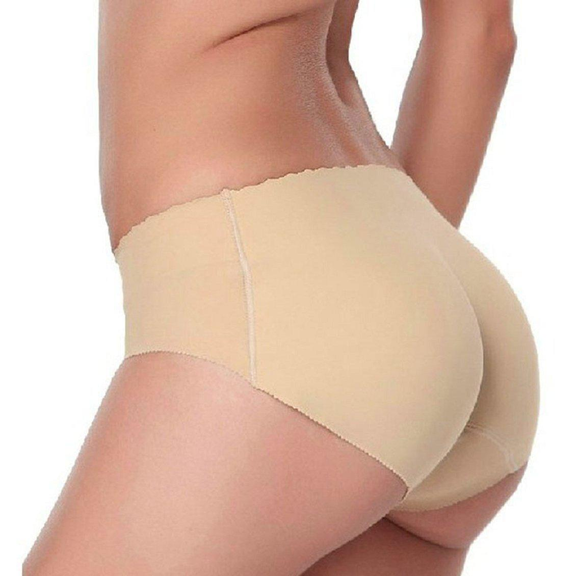 cf4c7f9c67d8 Wholesale- 2Pcs Seamless Briefs Women's Panties Ladies Panties Bottom Pad  Panty Sexy Underwear Buttock Up Pants Women Body Shaping Panty