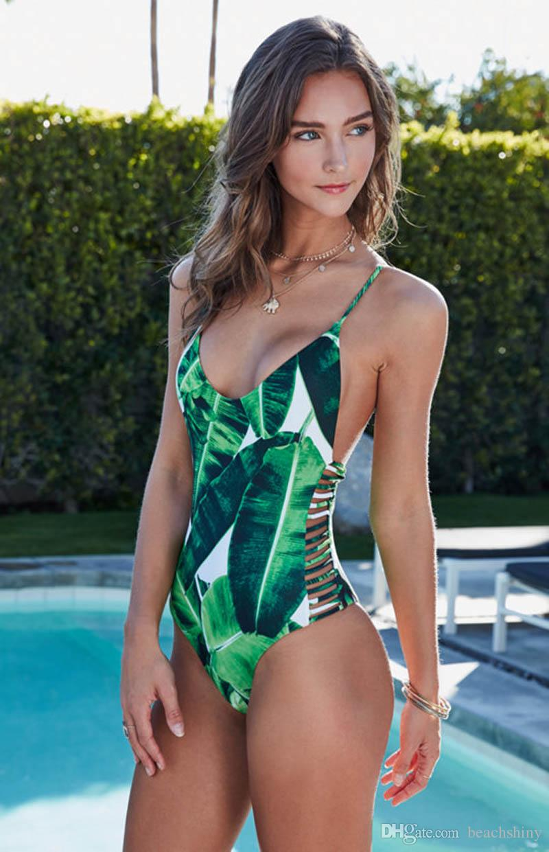 Sexy one piece swim suit strip picture 30
