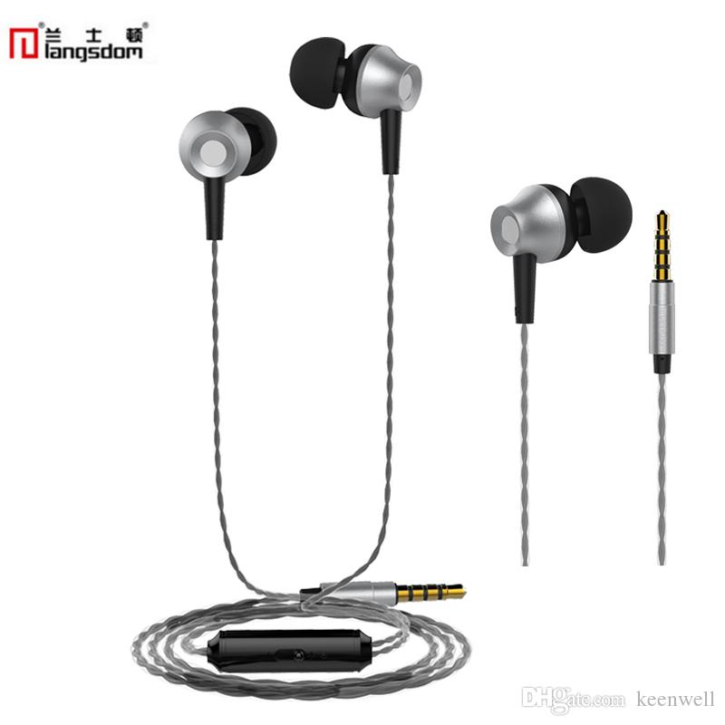 9d23dfa5765 Langsdom M299 Earphones Super Bass Metal Earphone With Microphon E& Remote  Earbuds For Phone Xiaomi 3.5mm Original Brand Wireless Earphone Headset For  Phone ...