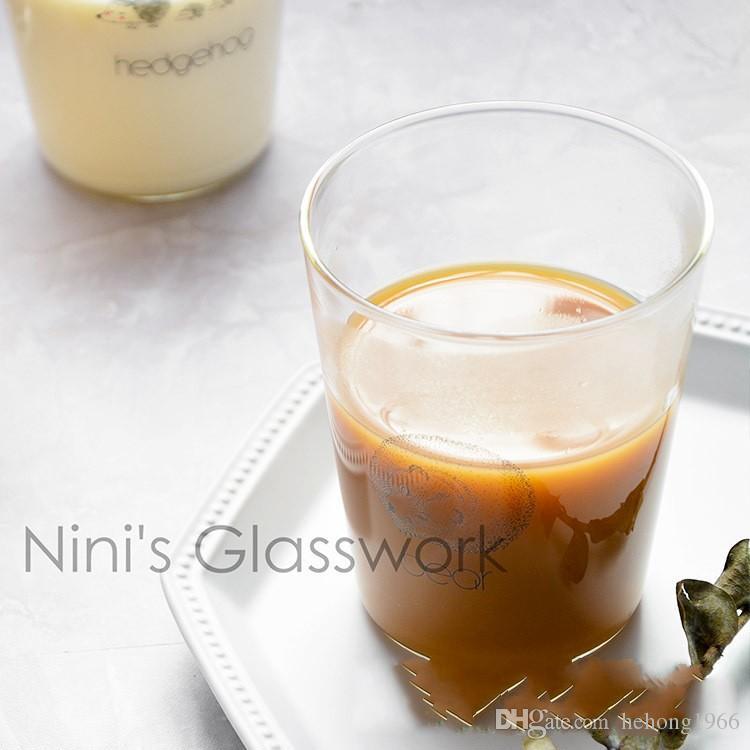Großhandel Guten Morgen Mikrowelle Milch Tassen Blume Gefäß Glas Saft Tumblerful Frühstück Tasse Für Liebhaber Probeauftrag 5 5hz Von Hehong1966