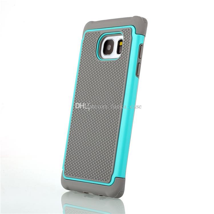 Custodia Amor Samsung Galaxy S7 Custodia S7edge S6 s6edge S5 Note5 TPU + Custodia anti-shock ibrida in gel siliconico il calcio modello PC