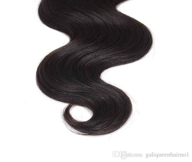 18 حزم / الكثير 100 ٪ البرازيلي الإنسان نسج الشعر متموجة الجسم موجة الشعر اللون الطبيعي شحن مجاني