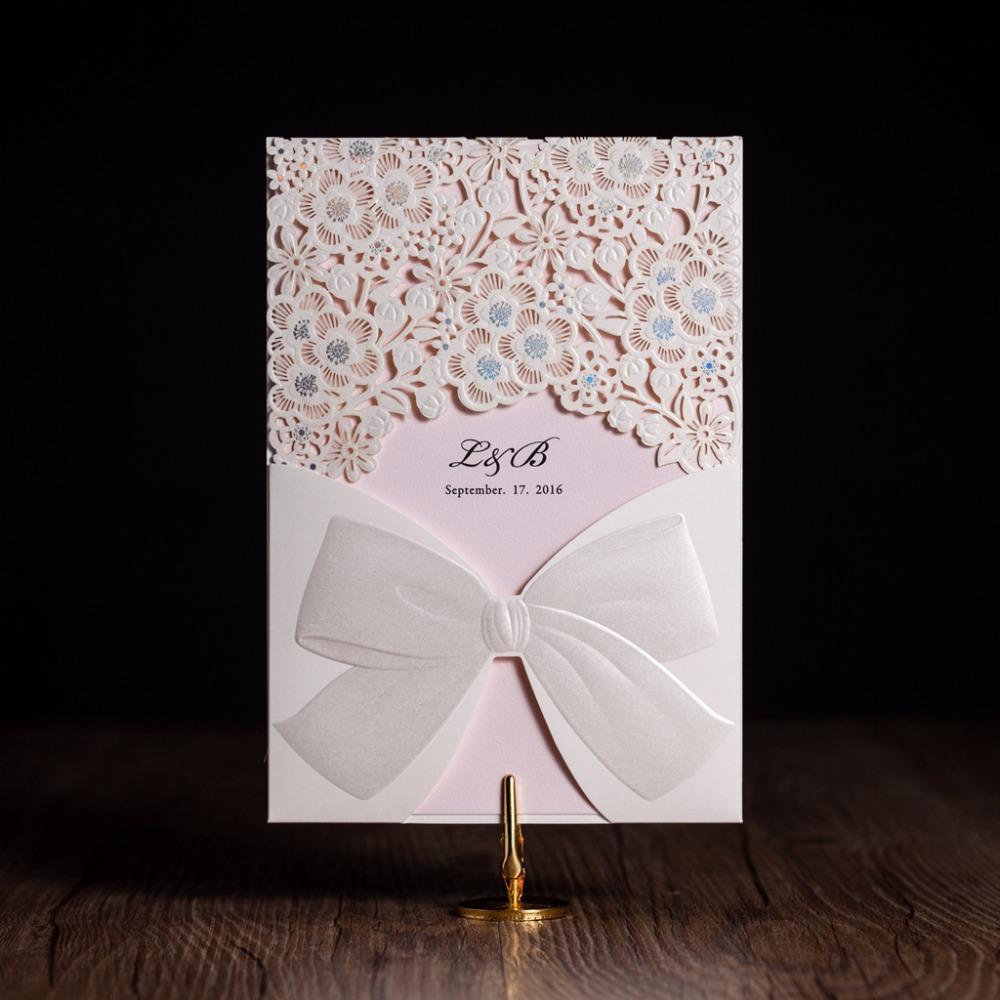 Wholesale Wishmade Wedding Invitation Cards Cw5186 Set Of 25 Free