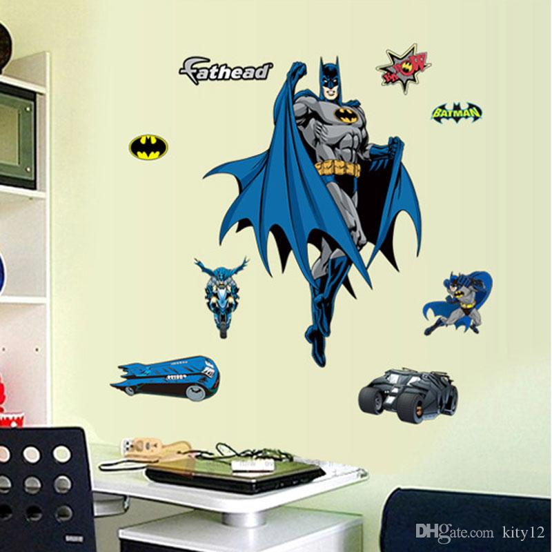 Wholesale Removable Batman Wall Stickers For Kid Boy Cartoon Decorative Wall  Decal Art Movie Poster Home Decoration Wall Stickers Online With  $5.47/Piece On ...