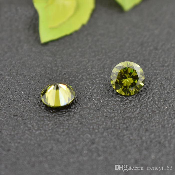 Hot Cubic Zirconia Birthstones Round 5-10mm Jau. To Dec. Loose Stone For Jewelry Charms Locket mixed color