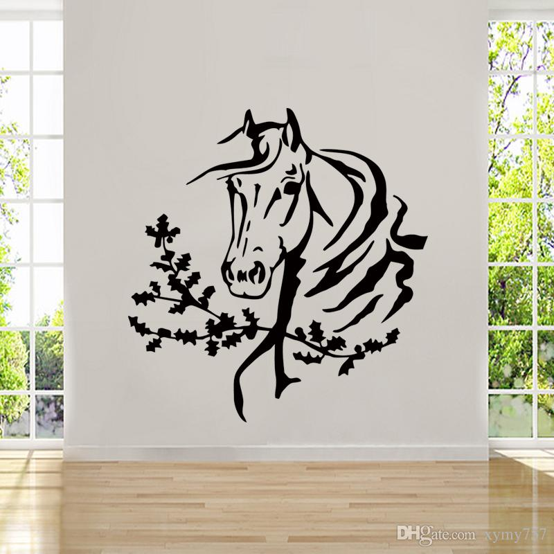 Hot Sale Personality Art Wall Room Decor Art Vinyl Sticker - Wall decals horses
