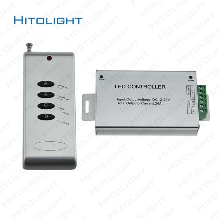 2018 Rf 24a 4key Led Rgb Controller Dc12 24v 3ch For 5050 3528 Rgb