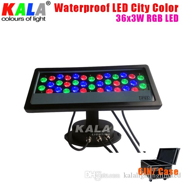 2018 Panel 36x3w Rgb Led City Color Wall Washer Light From