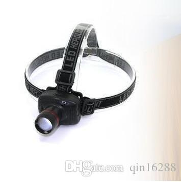 2017 new Hot Sales New 3w Led Headlamp Torch Headlight Head Light Zoomable Lamp Flashlight Camping Free DHL