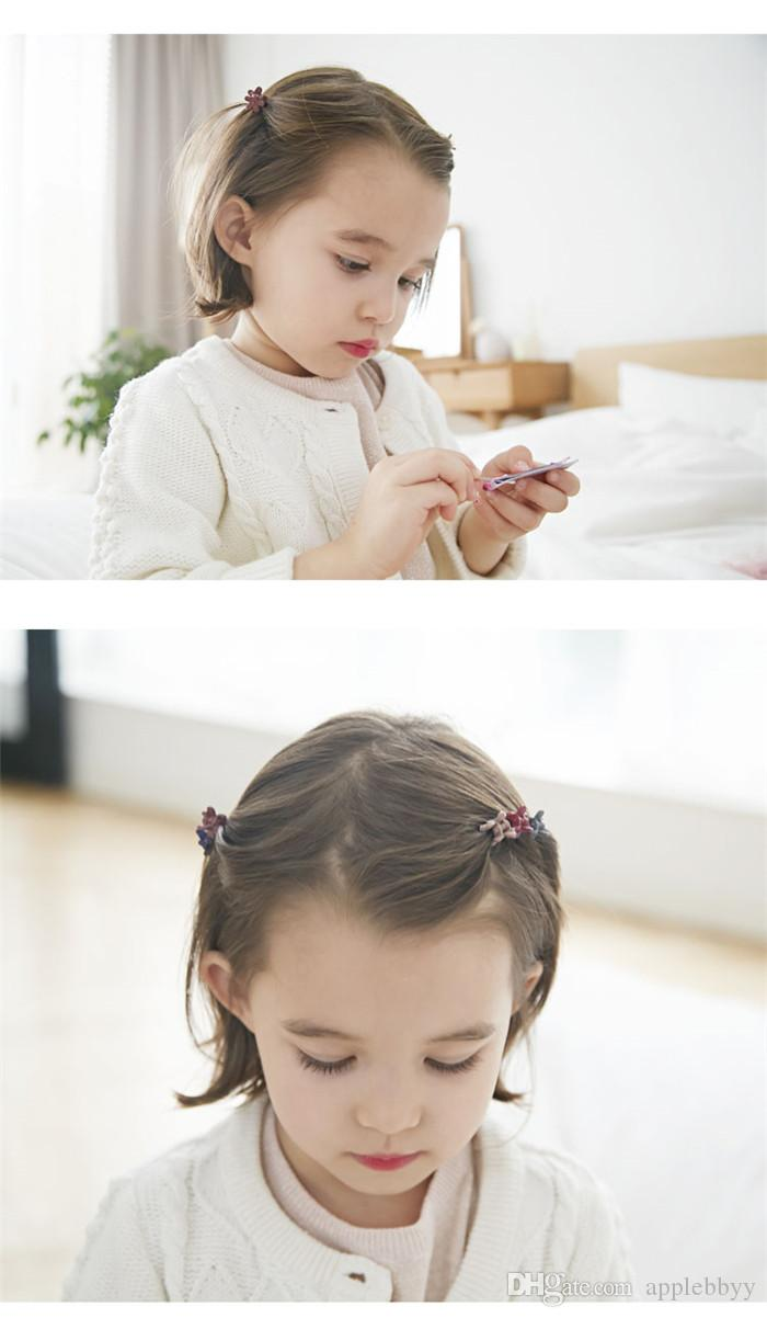 Hair Accessories Korea imported ornaments children baby trumpet caught hair clip hair clip small edge folder hairpin