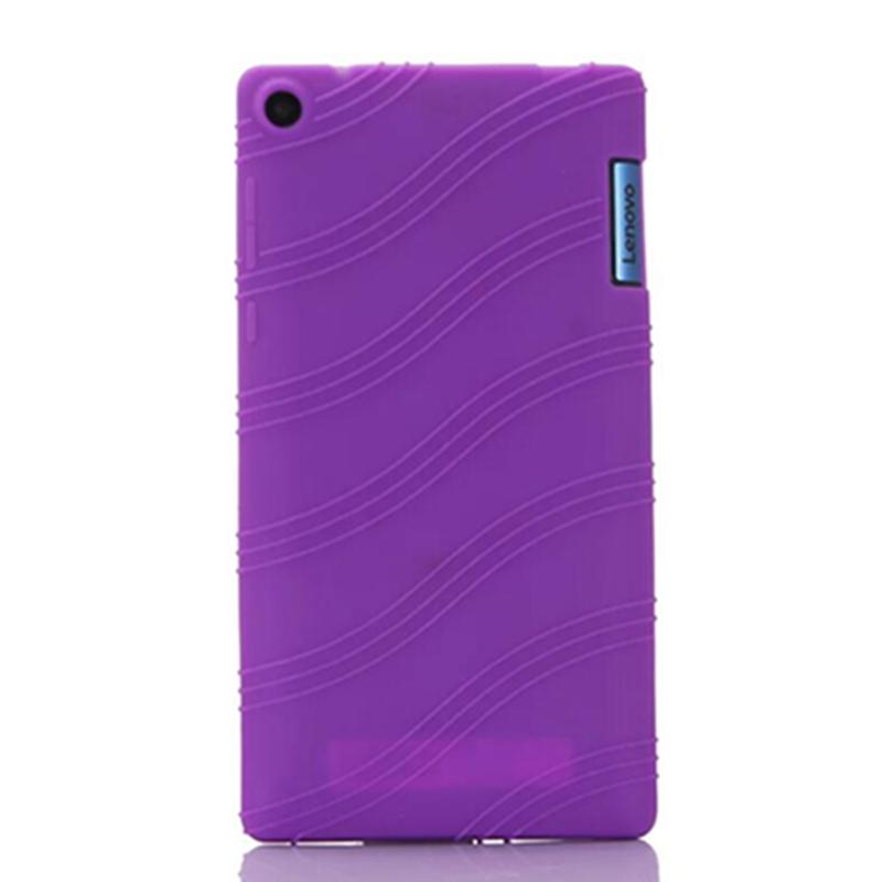 the latest 697a2 c52f5 Wholesale- For Lenovo Tab 3 730 case Soft silicone case cover For Lenovo  Tab 3 730F 730M 730X 7 inch tablet pc
