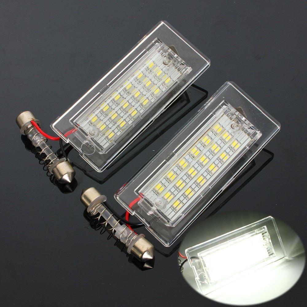 Compre Las Lámparas De Luz Led Blancas De La Matrícula Del Número ...