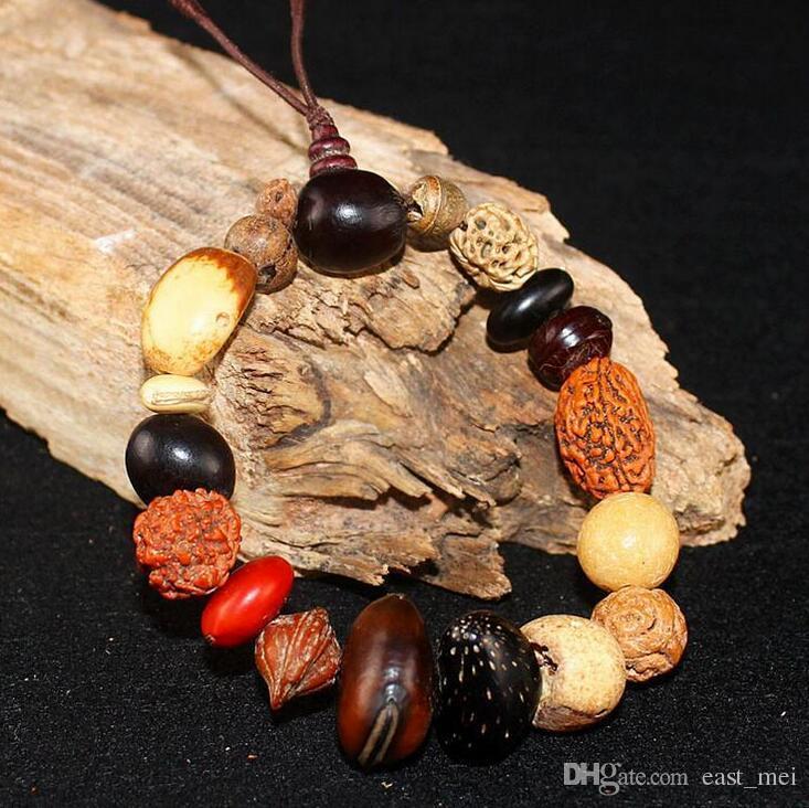 Bodhi child Buddha beads hand string jewelry eighteen child evil spirits security bracelet FB009 a Beaded, Strands