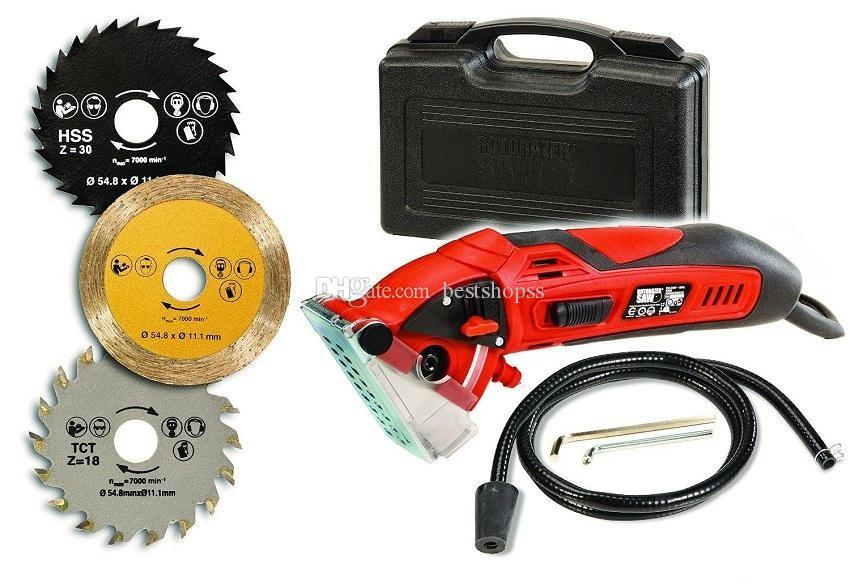 2018 power tool mini circular saw rotorazer saw with 3 quick mini circular saw rotorazer saw with 3 quick change blade and dust extraction system from bestshopss 6433 dhgate greentooth Image collections