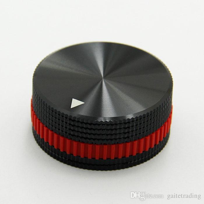Diámetro 40 mm componentes electrónicos Potenciómetro Interruptor Perilla DIY Manija Industrial Parte Digital Pieza Sonido Control de volumen HIFI Temporizador