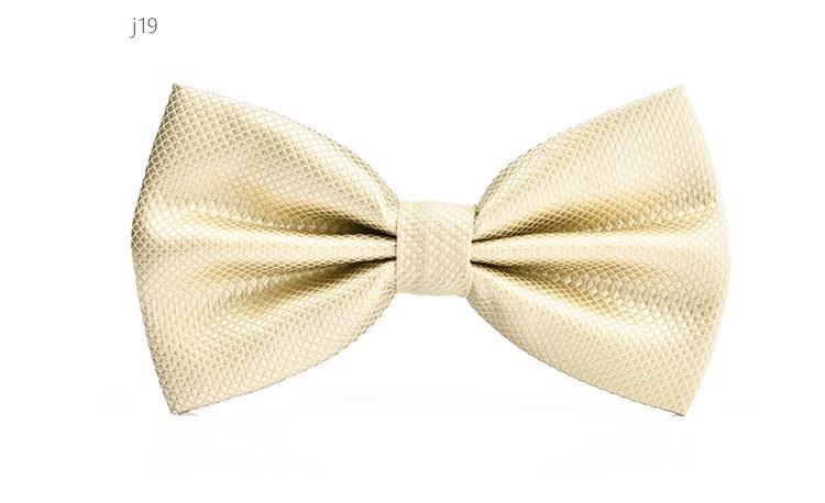 Mode strikje voor mannen jurk shirt gloednieuwe volwassen bowtie check bowknot bruiloft niklewear accessoire 2 stks / partij