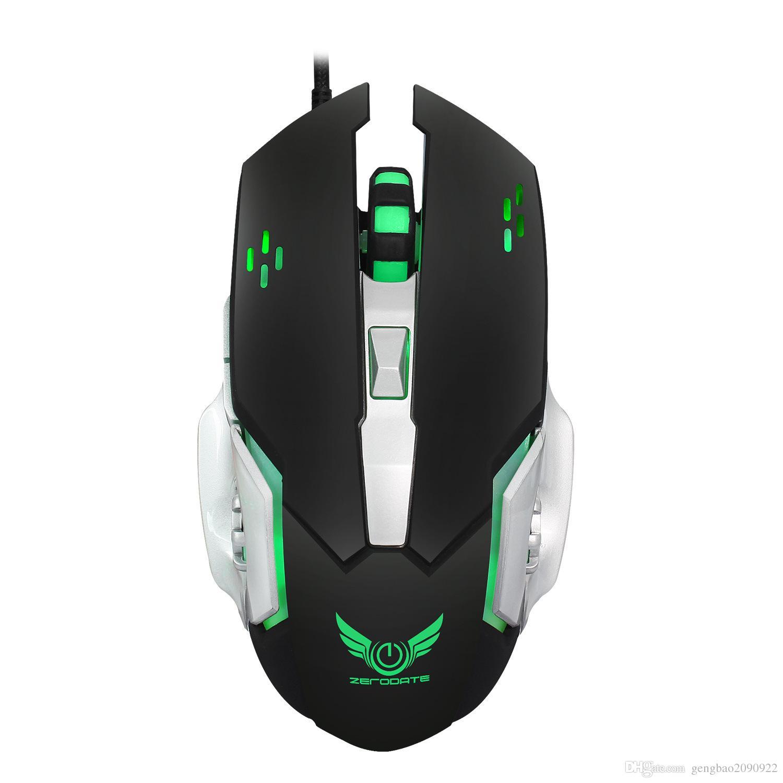 Großhandel 6d Knöpfe 3200dpi Optische Verdrahtete Spiel Mechanische Maus Für Tablette Laptop Pc X500 Verdrahtete Maus Von Gengbao $7 49 Auf De