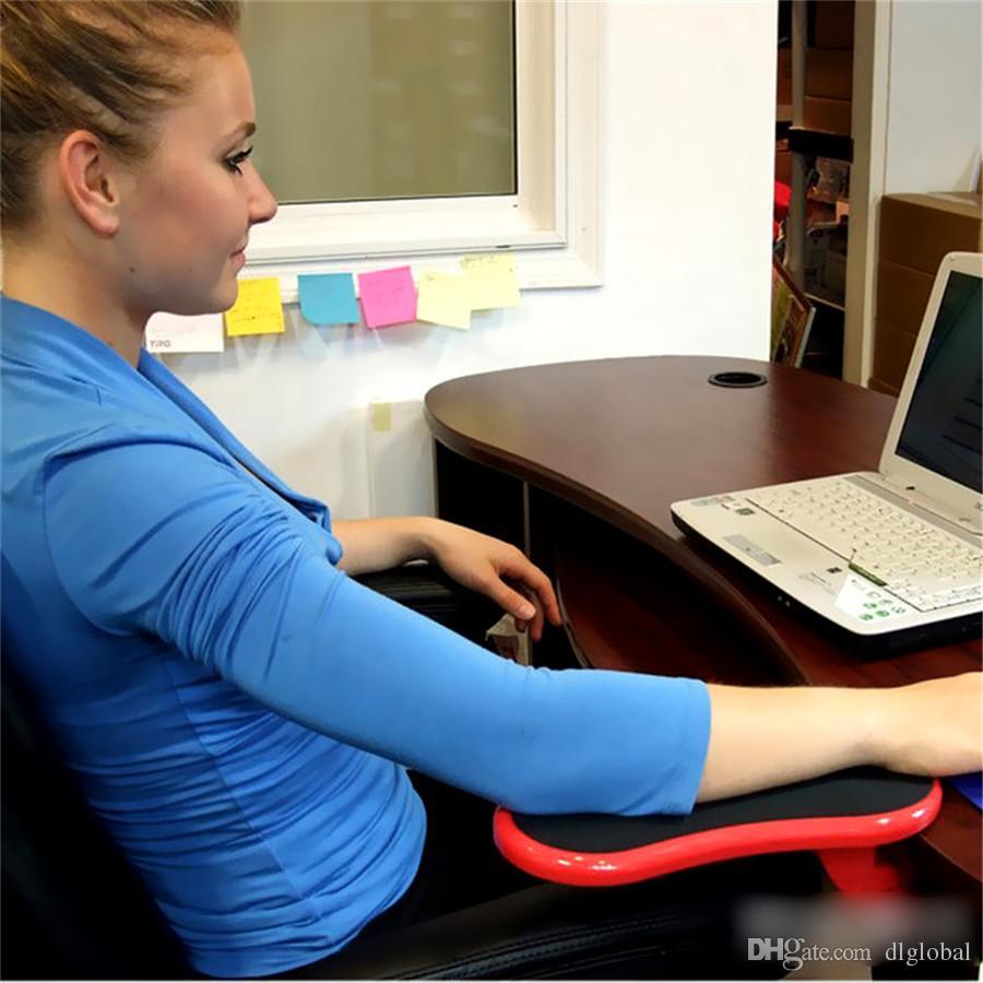 Moda Scrivania Supporto da tavolo computer portatile Supporto mouse Tappetino il polso Poggiapolsi il polso