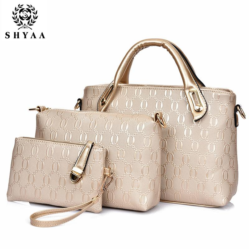 03f65a43cd Wholesale- SHYAA 2016 Women Bag Leather Handbag Women Messenger Bags ...