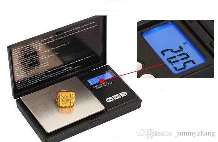 0.01g Dijital Hassas Ölçekler Altın Takı Ölçeği Cep Dengesi Elektronik Ağırlık 100g 200g 300g