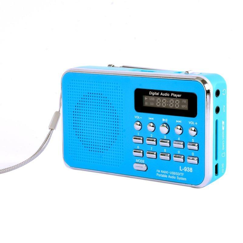 Wholesale Portable Rechargeable Digital Led Fm Radio Mp3 Speaker ...