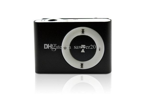 Clip Mini sténopé caméra DVR Lecteur MP3 sténopé caméra Numérique Vidéo Audio Enregistreur Bleu / Noir avec boîte de détail