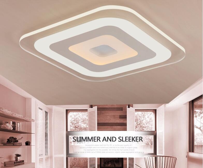 Acheter Luminaire De Plafonnier € Led Acrylique Moderne Salon