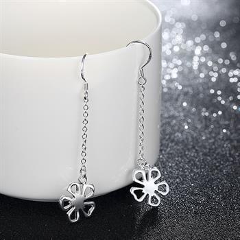 Wholesale  - 最低価格クリスマスギフト925スターリングシルバーファッションイヤリングYE089
