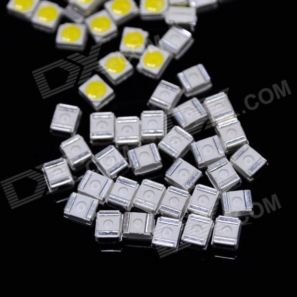 10000 pçs / lote DIY 0.06 W 6 ~ 7LM SMD 3528 LED Chip Módulo Beads Emissor Branco Frete Grátis