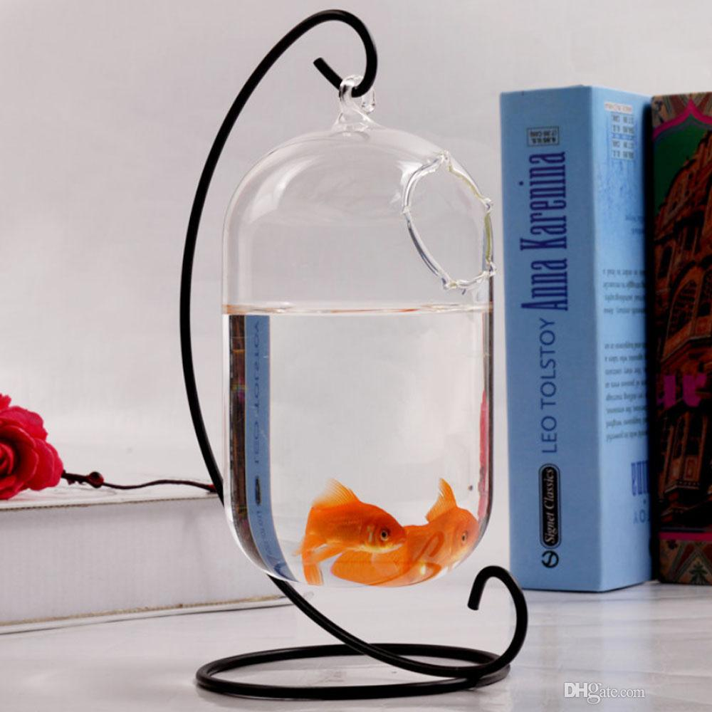 Hanging Glass Vase Creative Small Fish Tank Aquarium Fish Bowl