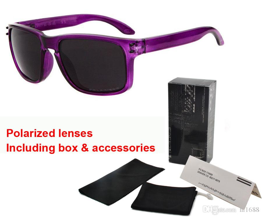 Marque designer lunettes de soleil polarisées hommes femmes New Top Version Sunglass TR90 Cadre uv400 lentille Sports Lunettes De Soleil Avec Boîte et sac Au Détail