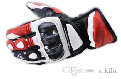 Für Ducati Männer Leder Motorrad Handschuhe Vollfinger Gants Moto Luvas Motocross Motorrad Guantes Cyling Racing Schutz Getriebe FREIES SCHIFF
