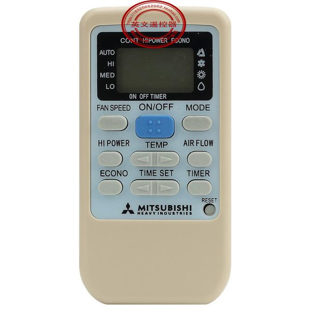 control remote air mitsubishi electric con