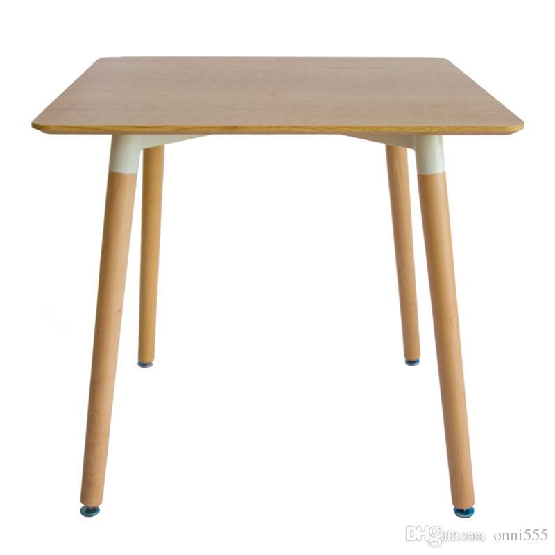 AuBergewohnlich Großhandel Moderne Einfache Massivholz Esstisch Und Stuhl Kombination  Kleine Haushalt Nordic Style Tische Hotel Esszimmer Möbel 80x80 Cm F03w5  Von Onni555, ...