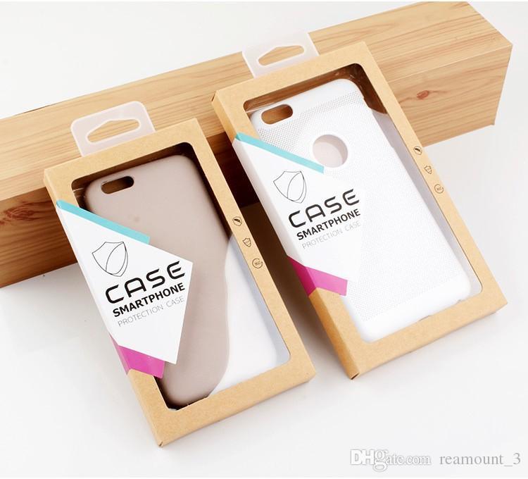 Caja de empaquetado del embalaje del paquete de papel al por menor de encargo para samsung galaxy s6 para las cajas del teléfono del caso del iphone 6