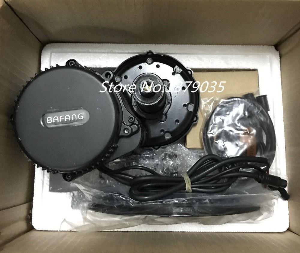 2017 New Bafang BBS02 48V 750W Ebike Motor with C965 LCD 8fun/bafang mid  drive Electric Bike conversion kits