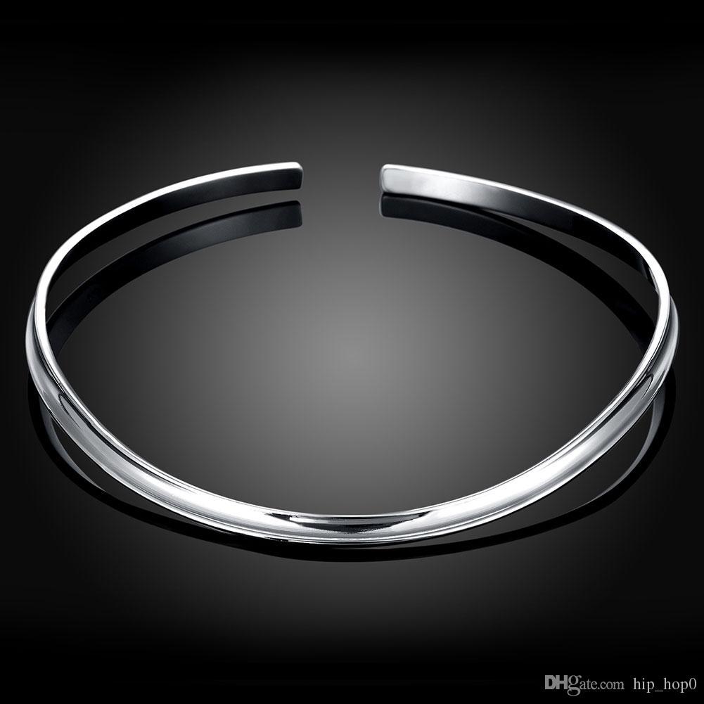 925 joyas de plata chapado en moda collar cadenas pares 1837 collar de moda geométrica chapado en plata gargantilla collar belleza regalos de cumpleaños