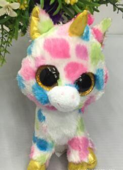 Nette Plüschtiere Ty Beanie Boos Baby Weichem Plüsch Stofftiere Großhandel Große Augen Tiere Weiche Puppen für Kinder Geburtstag Geschenke Cartoon
