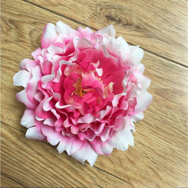 15cm Artificial Flowers Silk Peony Flower Heads Wedding Party