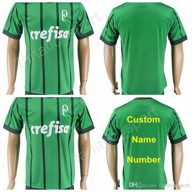 f31d26db79 2019 17 18 Soccer Palmeiras Jersey 2017 Brazil Thailand Personalized Camisa  De Futebol 5 AROUCA Football Shirt Kits 6 JUNIOR 8 TCHE 10 MAGALHAES From  ...