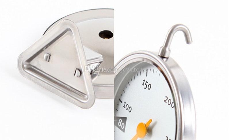 Edelstahl-Ofenthermometer Küche Kochen Fleisch Werkzeug Kostenloser Versand