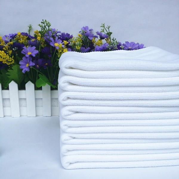 28cm*28cm-Disposable towel-White towel--For Guesthouse Hotel Bathing Beauty salon-Small Squre-Solid Color-Easy to air dry